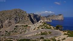 DSC07191 Cap Formentor (dreptacz) Tags: majorka hiszpania wyspa natura półwysep przylądek serpentyny skały morze woda góry slt55 sony lustrzanka niebo niebieski chmury krajobraz widok droga zakręty drzewa barierki asfalt