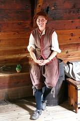 Gunner on the tweendeck of the Susan Constant (nutzk) Tags: virginia jamestown settlement susanconstant boat ship sail sailboat cannon tweendeck gunner