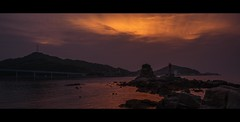 20130518b (Shuji Moriwaki) Tags: sky japan landscape golden hour pancake nagasaki iwojima spherical 14mm gh2