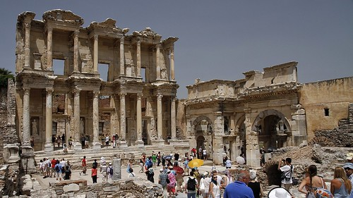 Library at Ephesus. 21/05/13.