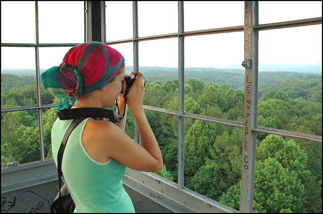 Hoosier National Forest - Hickory Ridge Fire Tower - June 2005