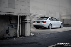 BMW_328i_MRR_GT8_WHEELS_HS_04 (MRR WHEELS) Tags: white silver wheels tires bmw rims e90 328i
