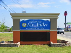 Welcome to Mt. Juliet, Wilson County, Tennessee (J. Stephen Conn) Tags: tn tennessee welcome wilsoncounty mtjuliet