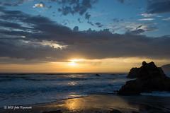 Another day, another sunset... (Images by John 'K') Tags: california ca sunset beach nikon highway1 bedandbreakfast westport 28300mm pacificcoast johnk d600 hcr nikond600 howardcreekranch howardcreekranchinn johnkrzesinski randomok