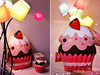 Strawberry CupCake (FD.FOREVER) Tags: pink food cute cake dessert toy toys design yummy stuffed strawberry handmade craft felt pillows plush cupcake artists kawaii plushie sweets decor كيك فن وسادة حلويات العاب يدويه tumblr اشغال كب مخدات جوخ