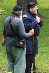 IMG_1305 (temeraire06) Tags: civilwar goosecreek reenactors loudouncounty upperville loudounvalley gettysburgprelude companyc20thmaine