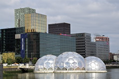 RCI Floating Pavilion in Rijnhaven, Rotterdam (Joey Johannsen) Tags: rotterdam thenetherlands inholland rotterdamzuid rijnhaven floatingpavilion rotterdamclimateinitiative