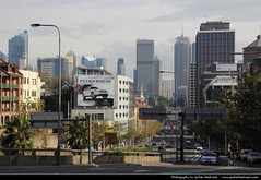 View along William Street, Sydney (JH_1982) Tags: street new travel travelling wales canon eos view south sydney australia william nsw australien traveling tamron australie 18mm 澳大利亚 シドニー オーストラリア 悉尼 270mm австралия 60d 오스트레일리아 сидней sídney