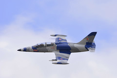 RedWhiteAndBlue (MDawny72) Tags: blue red white cold stars washington war aircraft flight jet airshow olympia russian trainer relic l39 tumwater
