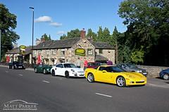 Ready to Go (MJParker1804) Tags: summer white black classic chevrolet up yellow drive evening countryside conversion c sunday 911 s front hills replica turbo bumper porsche end type british jaguar tt corvette blast v8 57 c6 carrera 996 gt3 997 lined c2s