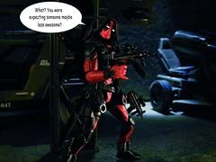 Guess Who's Coming to Dudes n' Bots? (Dudesnbots) Tags: cobra n joe dudes bots gi deadpool dudesnbots