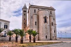 Trani - La Cattedrale (NIKOZAR (Nicola Zaratta)) Tags: nikon italia mare chiesa puglia hdr cattedrale trani nikond90 blinkagain