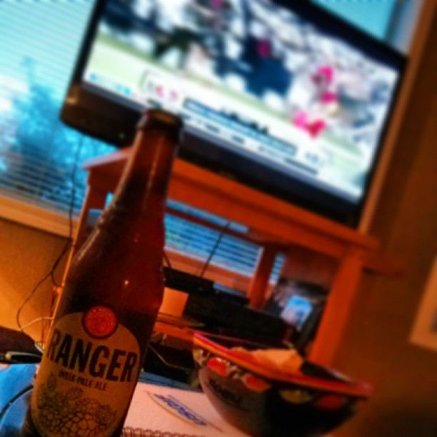 Thursday night football and a Ranger...