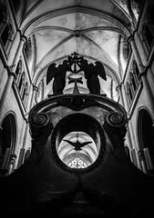 St Antoine l'abbaye.jpg (Gilles Sprecher) Tags: bw white black church saint noir mysterious blanc eglise mystic antoine abbaye fujixe1 fujixf1855