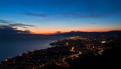 Genova - Monte Moro (EXPLORED) (Matteo Nebiacolombo) Tags: sunset tramonto liguria explore genova explored montemoro genovaquarto tramontoligure tramontogenova genovaquinto vision:sunset=0979 turismogenova