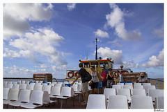Embarking for Ilha Culatra / The crossing (6) (AurelioZen) Tags: sky portugal clouds europe tourist tourists passengers bigsky algarve riaformosa olhão sotavento canonefs1785isusm rioguadianaferry