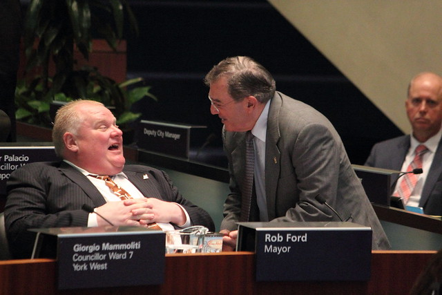Mayor Rob Ford at Toronto City Council