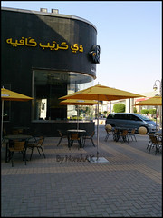Riyadh streets (Norah_Studio) Tags: sky streets cars beautiful yellow umbrella restaurant cafe crepe riyadh saudiarabia enjoyable thecrepecafe riyadhstreets sonyxperiaz xperiaz princesultanbinabdazizstreet