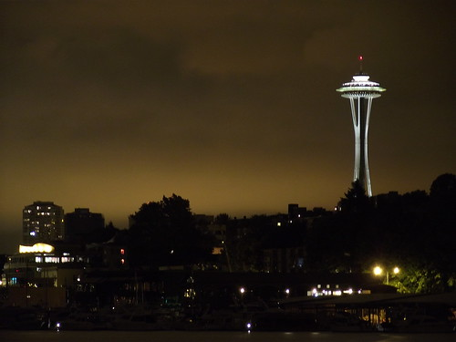 Queen Anne Hill and Space Needle
