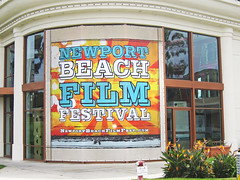 Entertainment, Newport Beach Film Festival at Big Newport, Mesh Banner