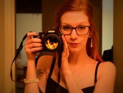 Sunday. (Ms. Melissa Methamphetamine) Tags: girl fire nikon newcamera selfie cameraporn hss d3200 sliderssunday yaynewtoysd