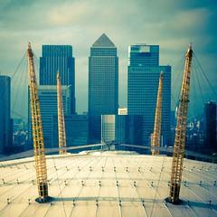 O2 to Canary Wharf (@fotochap) Tags: uk england london air o2 line emirates wharf canary tfl
