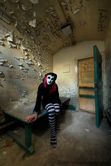 Sillitude (Sshhhh...) Tags: abandoned court solitude mask decay explorer cell away tights dirty explore prison stripey dust explorers exploration derelict locked decayed