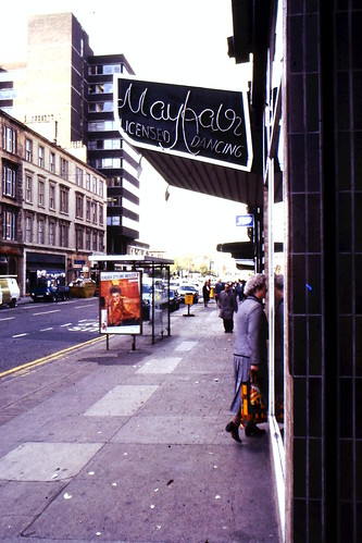 Mayfair Nightclub  Sauchiehall Street Glasgow 1980s