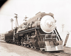 Southern Pacific Lines, No. 4462 (SMU Central University Libraries) Tags: railroad train trains sp locomotive locomotives railroads steamlocomotive tenders southernpacificrailroad streamerlines