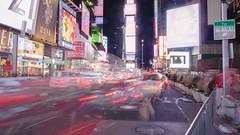 TSQ (Fernie787) Tags: city newyorkcity newyork night noche timelapse cityscape manhattan busy nightlife bigapple