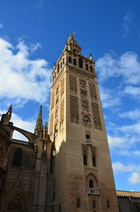 The Giralda, originally 12th century Almohad minaret (10) (Prof. Mortel) Tags: spain minaret seville andalucia giralda almohad