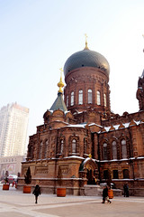 Saint Sophia Cathedral - Harbin, China (SpottingWithTom) Tags: chin