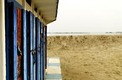 #11 (○gus○) Tags: mare sea spiaggia beach nikon d7000 35mm cabine gabine changingroom ʂ