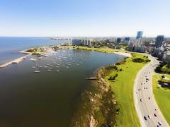 Puerto Del Buceo 20140312 (Marcelo Massat) Tags: uruguay montevideo drone dji