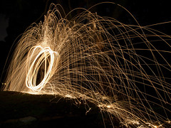 Wire wool (~Ste~) Tags: fireworks infocus highquality