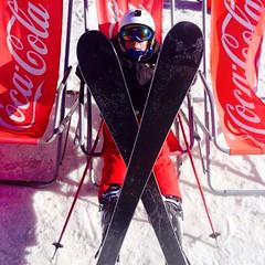 Crossed skis (pixelmixture) Tags: 2000 isola