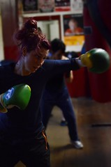Woman Boxer Training in Bristol Boxing Gym (sophie_merlo) Tags: woman sexy girl sport bristol boxer boxing 1000 punchbag bristolboxinggym tba1000 ladydebbytarrant