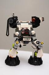 Panda's Guardian Mech (amiazombie) Tags: robot panda lego mech moc