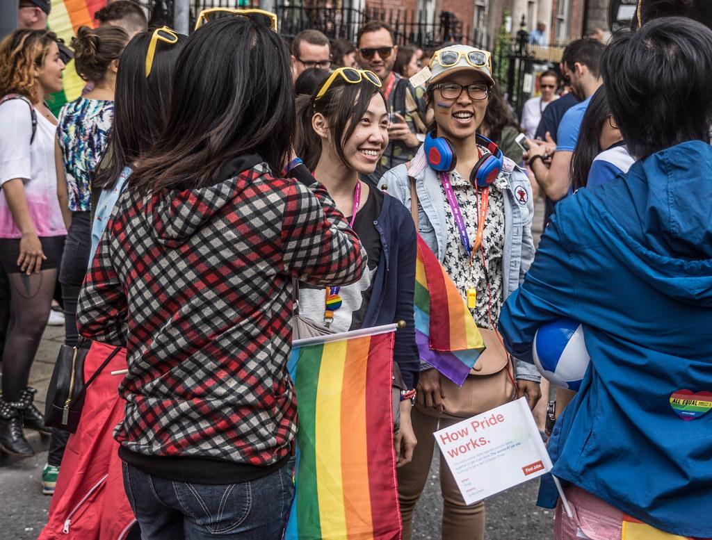 DUBLIN 2015 LGBTQ PRIDE PARADE [WERE YOU THERE] REF-106015