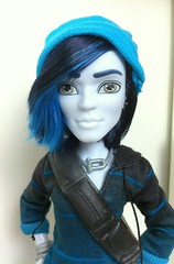 I've got nothing to hide (dolldudemeow24) Tags: monster high doll invisibilly scaremester