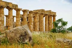 Selinunte, Temple E (490-480 BC) (NEtrekker) Tags: ruins temples sicily selinunte templee