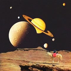 Western Space (Mariano Peccinetti Collage Art) Tags: art collage vintage stars 60s desert surrealism space retro lsd galaxy psycho collageart dreams western planet 70s planets dreamy dada surrealist meditation saturn dope psychedelic cosmic dmt vintageart peccinetti marianopeccinetti