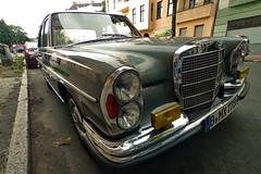 Mercedes (sterreich_ungern) Tags: car germany deutschland mercedes benz wide chrome oldtimer ultra automobil sklasse