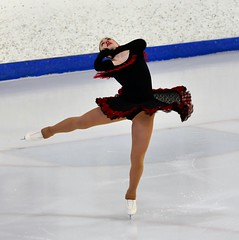 South American Style... (R.A. Killmer) Tags: show ice argentina costume madonna highschool figure skater skill
