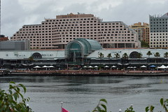 """""""Novotel"""" hotel - Darling Harbour- Autumn in the rain and bad weather 2017 (nicephotog) Tags: bay water dock harbourside shopping centre ultimo pyrmont sydney nsw darling harbour hotel motel novotel"""