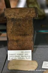 Copper ax (konde) Tags: earlydynastic 1stdynasty copper ax ancient hieroglyphs abydos kahetep