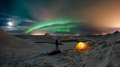 Spakonuvatn (hrobertsson) Tags: aurora keilir landscape ilce7r reykjanesgeopark sonyalpha rokinon fishey fisheye 12mm