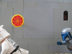 Ran out of ammo (JellyBeanie81) Tags: pizza ranoutofammo jango fett clone trooper starwars funny lego