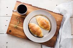 美食攝影 (benageXYZ-邊) Tags: ç´è² food foodphotography foodpron bread croissants breakfast 可頌 麵包 美食 美食攝影 台灣 台中
