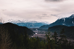 Squamish (eric.vanryswyk) Tags: stawamus chief squamish british columbia canada sea to sky corridor clouds snow ice dark moody forest moss swamp mountain mountains cliff cliffs rainforest road tarmac countryside landscape serene nikon d610 nikkor 50mm f18